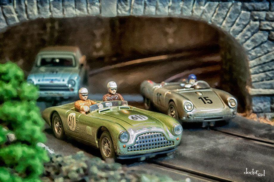 Slot car tunnel usain bolt advertising gambling