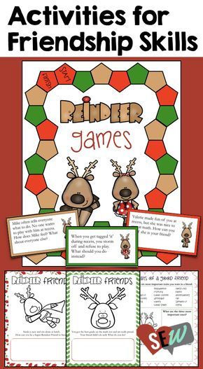 Counseling Office Kid Friendly This Would Be Great If: Friendship Skills & Conflict Resolution Christmas