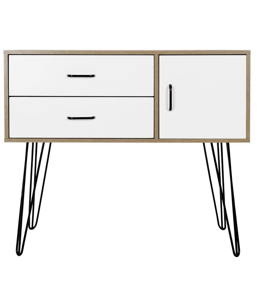 Buy hygena ivy 2 drawer small sideboard on wire legs at argos buy hygena ivy 2 drawer small sideboard on wire legs at argos keyboard keysfo Choice Image