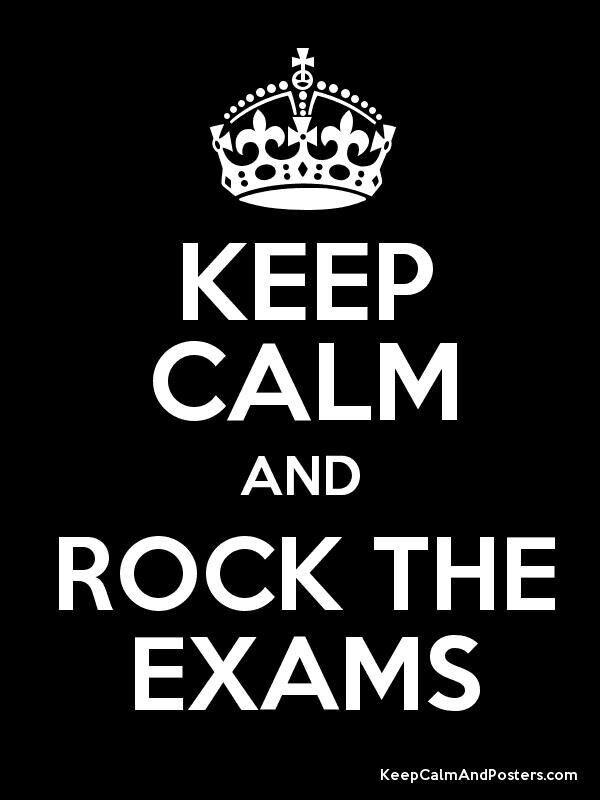 Good Luck Everyone >> Good Luck Everyone Exams Keep Calm Poster Calm