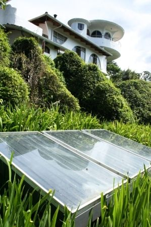 A Hotel In Costa Rica Uses Solar Panels A Green Sustainable Energy Source Solar Panel Cost Diy Solar Panel Solar Panels