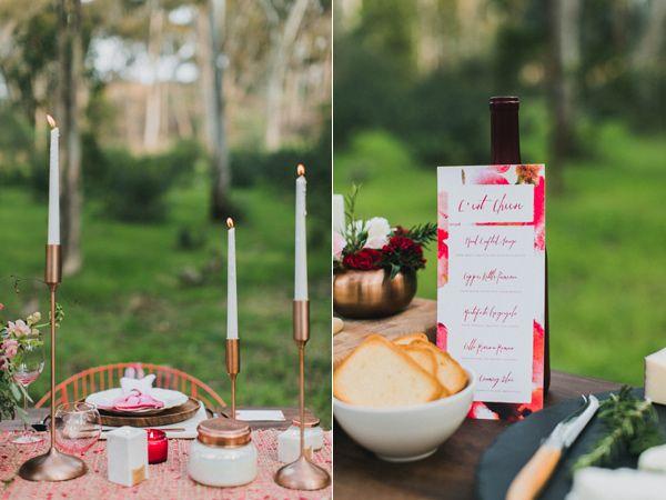 modern garden wedding inspiration - photo by Maple and Elm Photography http://ruffledblog.com/modern-garden-wedding-inspiration