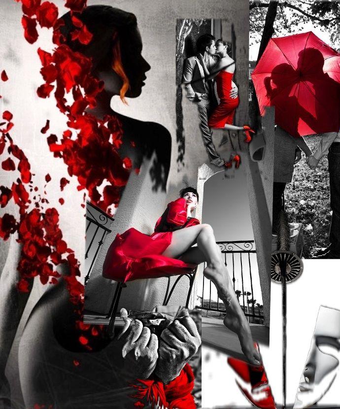Rot ist Leidenschaft #bazaart