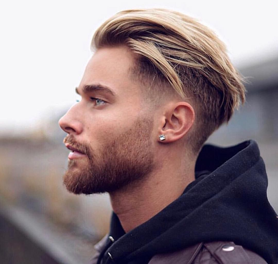 Trendy Hairstyles for Men with Blonde Hair Color -