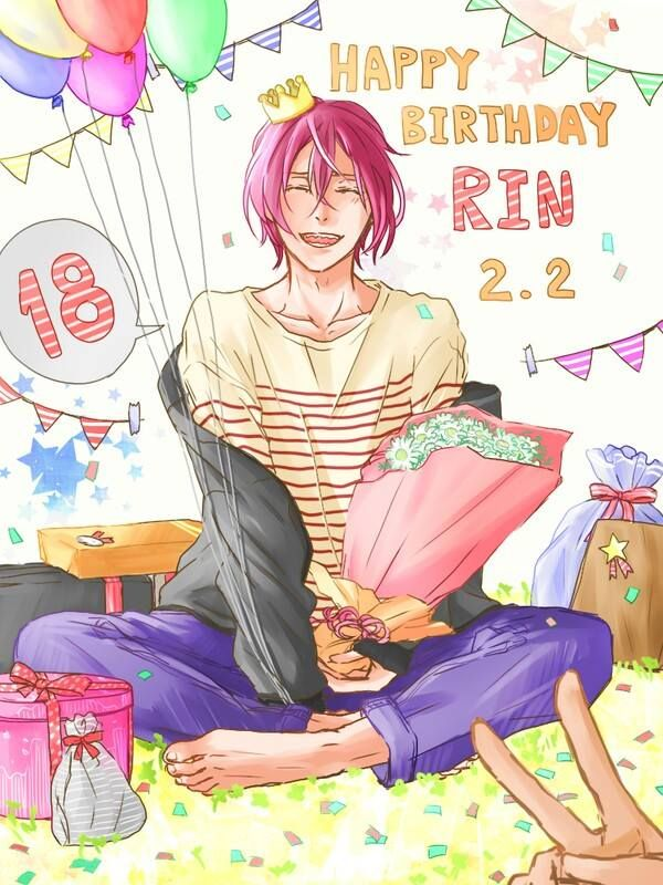 Rin Matsuoka Happy Birthday My Love Free Anime Anime Free Iwatobi Последние твиты от rin matsuoka (busy) (@matsuokath). rin matsuoka happy birthday my love