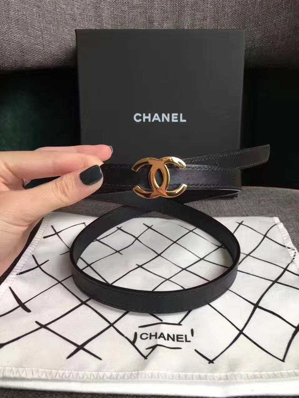 6a4d4cb7c9669 Chanel woman belt Fashion Belts