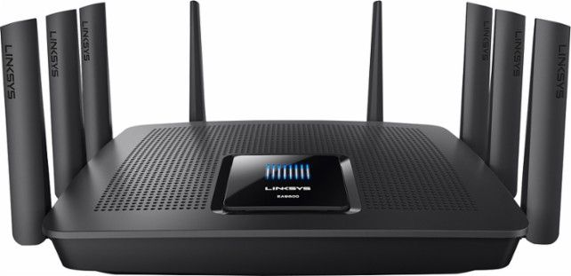Linksys Ea9500 Max Stream Ac5400 Tri Band Wi Fi Router Front