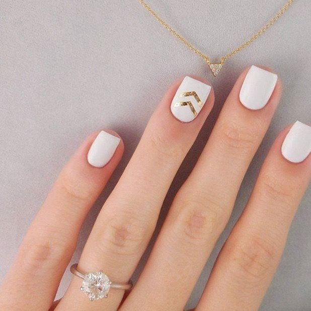 Are You Looking For Ideas Pretty Nails To Sport At Your Wedding Or Another Special Event Here Chic Takes On The Classic French Mani