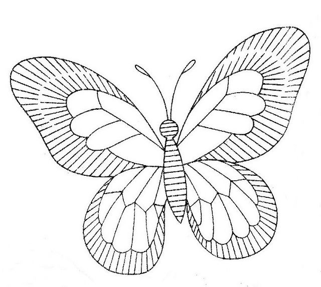 Butterfly 3 | Bordado Otomi | Pinterest | Apliques, Mariposas y Bordado