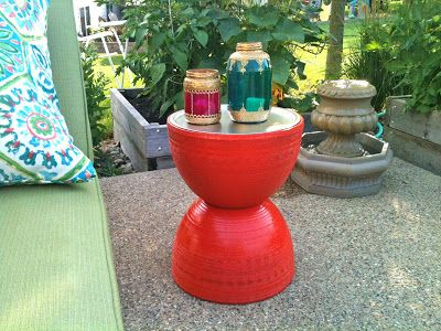 Two Flower Pots and a Pizza Pan | matsutake
