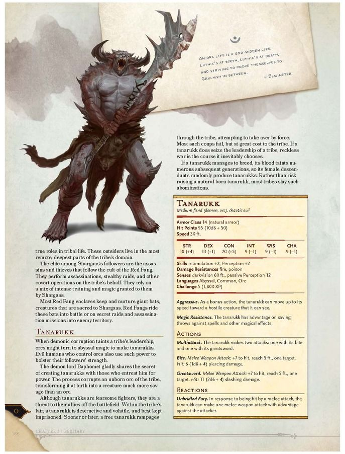 An Exclusive Preview Of The New Dungeons Dragons Monster Manual Volo S Guide To Monsters D D Dungeons And Dragons Dnd Monsters Dungeons And Dragons Homebrew