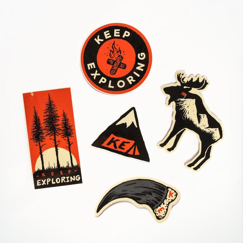Ke X Sam Larson Sticker Pack V2 Car Sticker Design Sticker Design Outdoor Stickers [ 1024 x 1024 Pixel ]