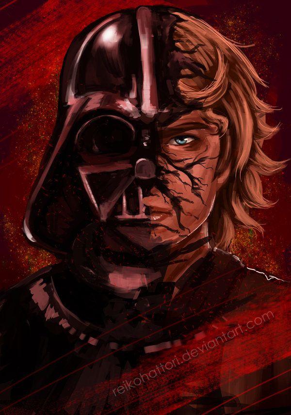 Pin On Darth Vader Art