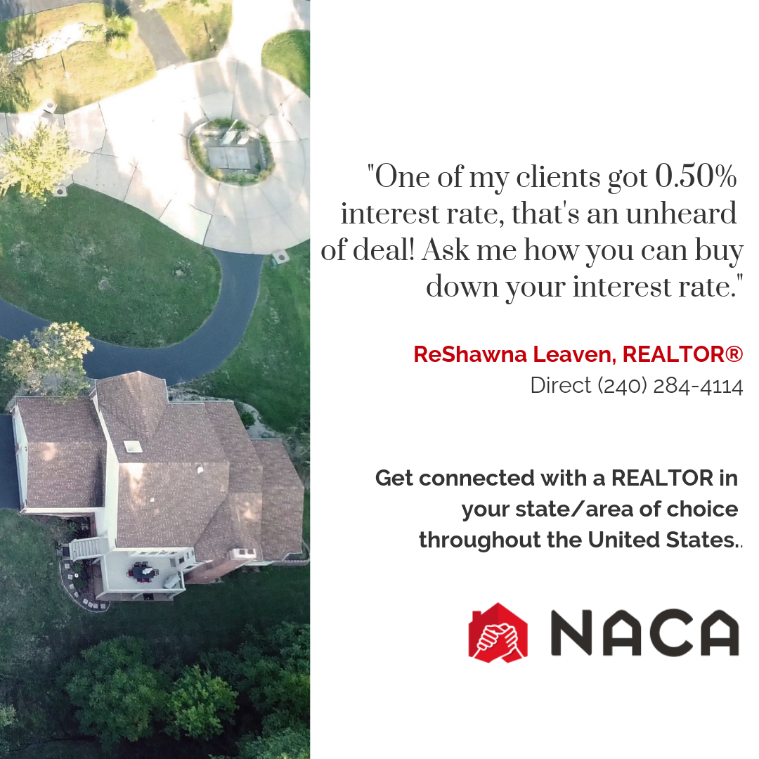 Buy A Home With Naca America S Best Mortgage Call 240 284 4114