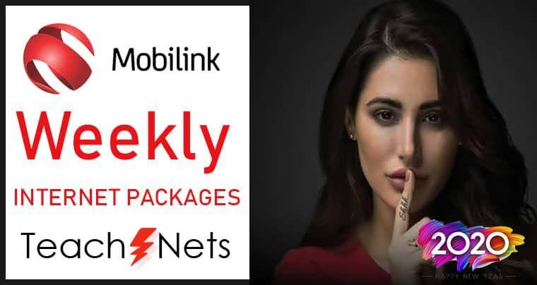 Mobilink Weekly Internet Package In 2020 Internet Packages Jazz Internet Internet Offers