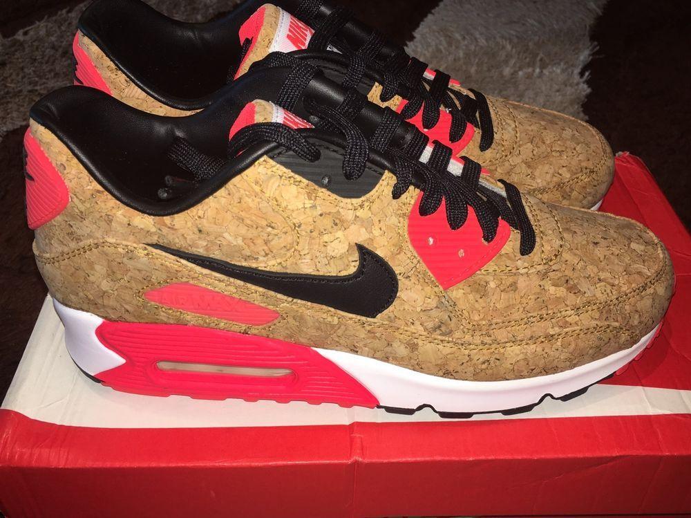 sale retailer 081f2 bd9ca Nike Air Max 90 Cork Men's Size 7 Style 725235-706   Kicks 4 ...