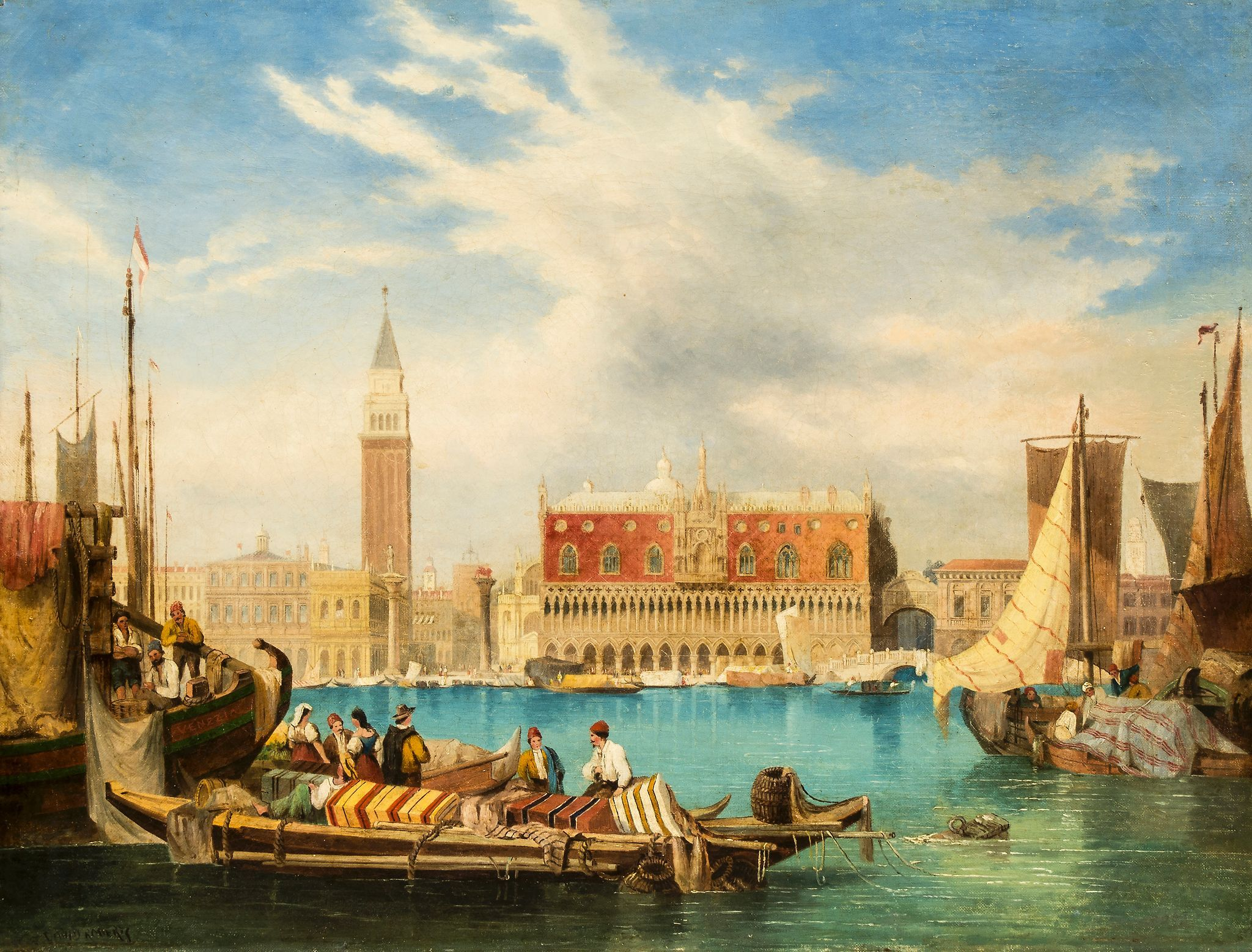 David Roberts Paintings Of Venice Google Search Ancient Egypt