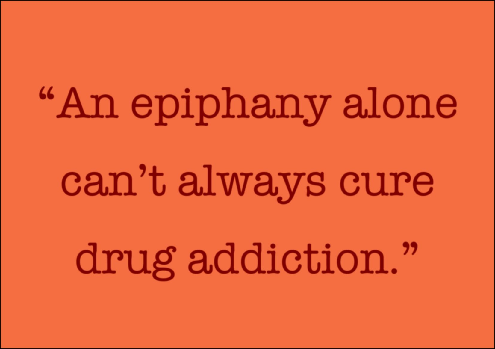 about drug addiction introduction
