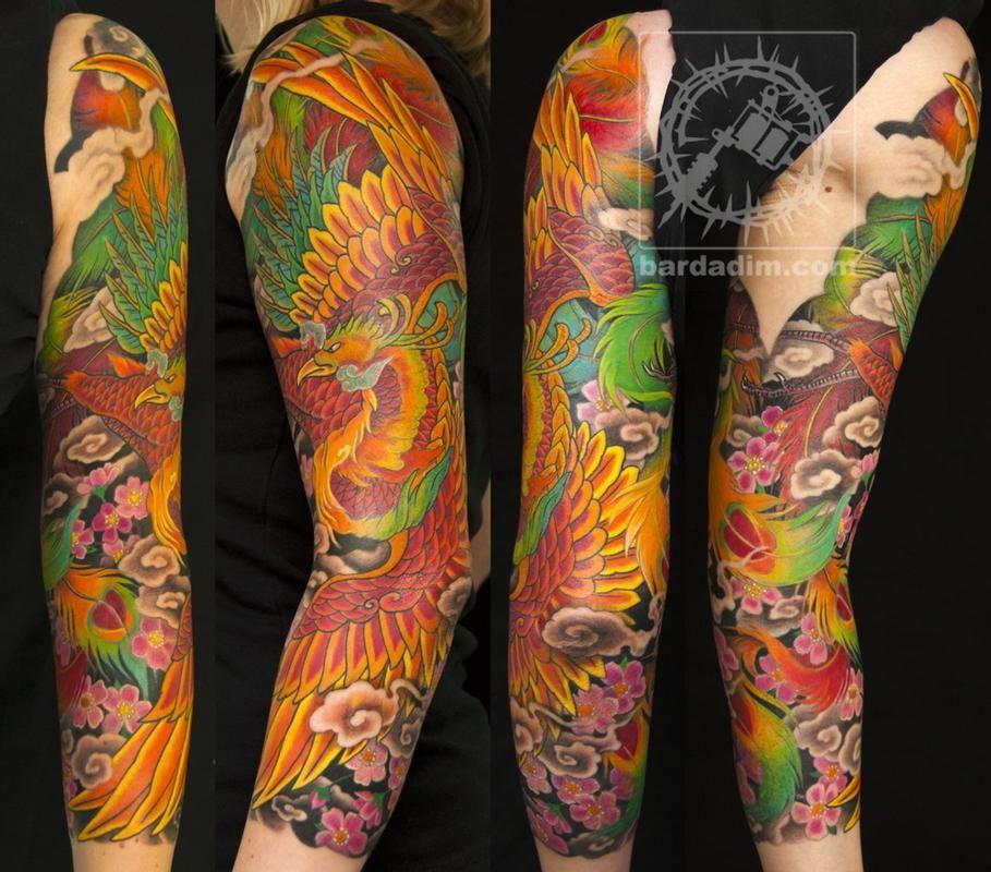 Tattoos George Bardadim Japanese Phoenix Tattoo Japanese Phoenix Tattoo Phoenix Tattoo Sleeve Phoenix Tattoo