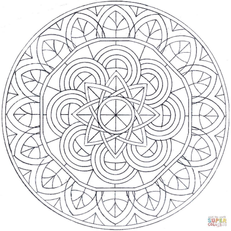 ❤~ Mandala para Colorear ~❤   Dibujos & Mándalas para pintar ...