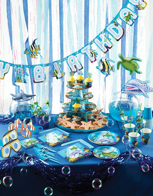 Ocean Party Theme Party Supplies Party Idea Decoration