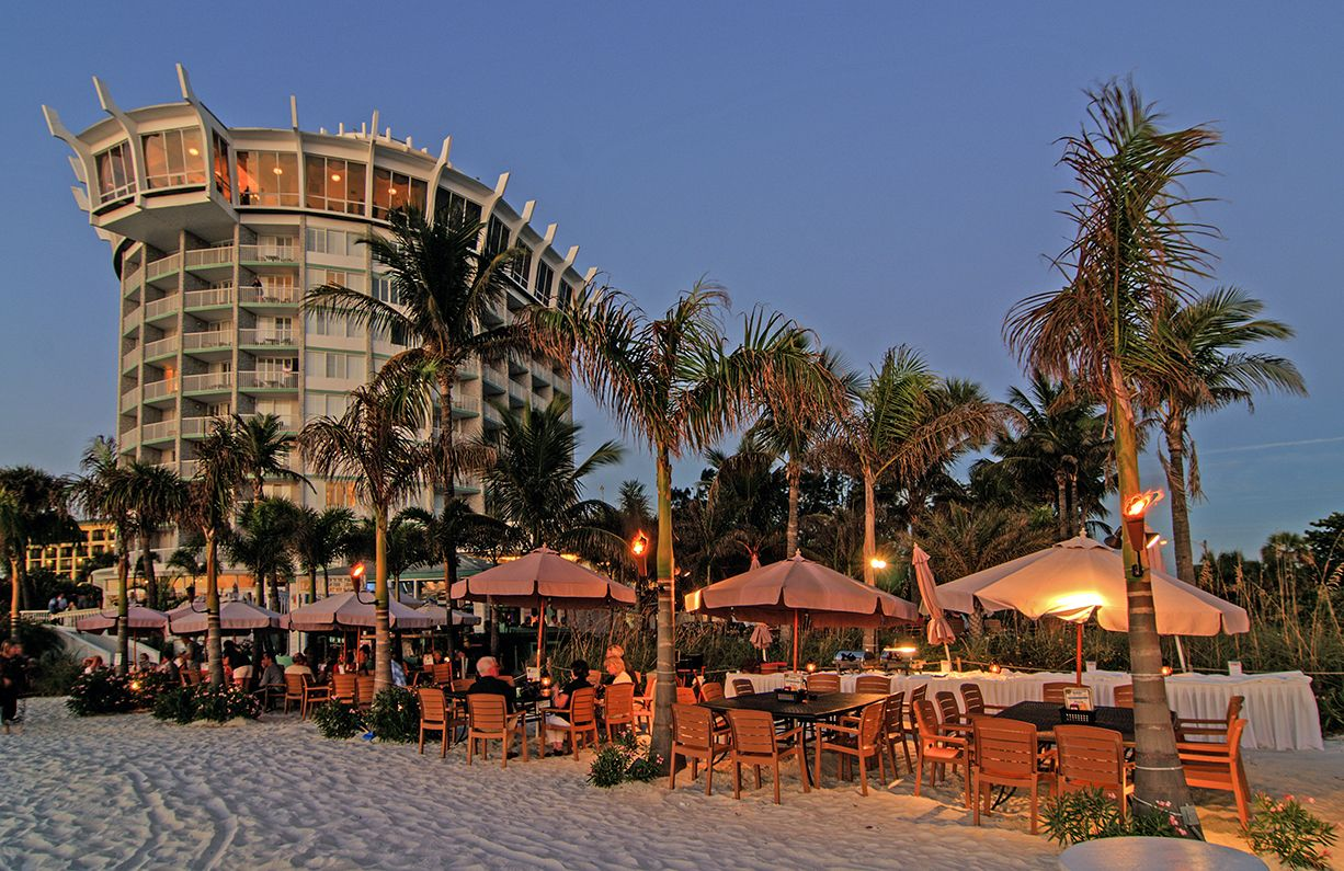 Bongos Beachside Bistro Dining On The Gulf Of Mexico Grand