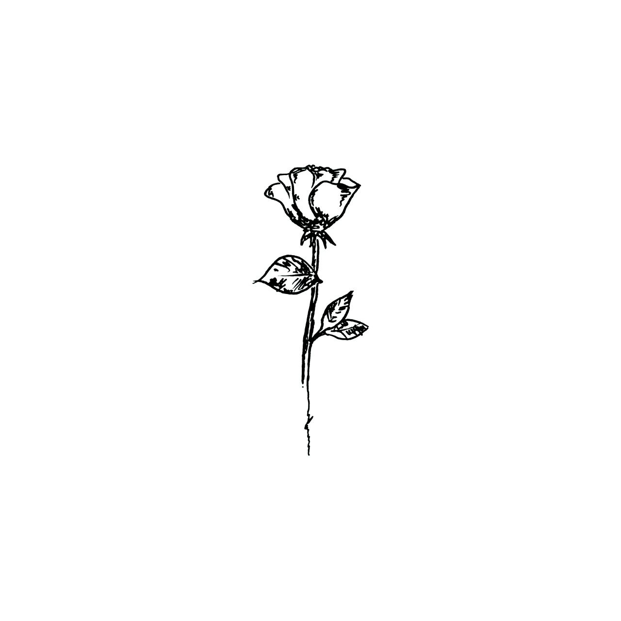 Simple Line Art Rose : Demetrius harmon tattoo chest tattoos pinterest