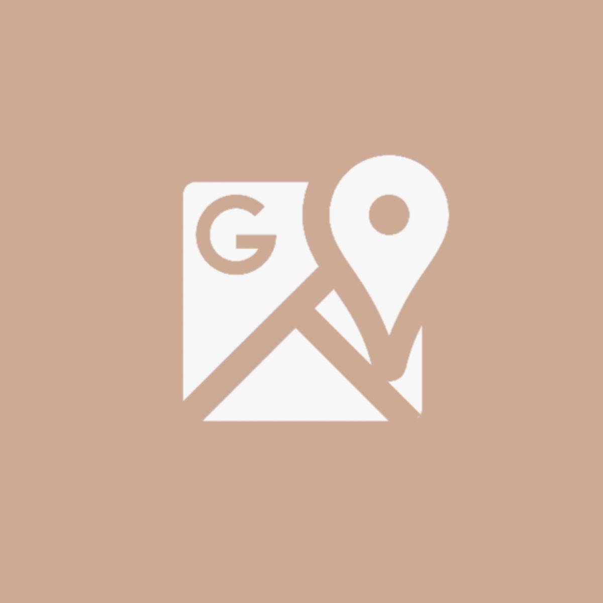 Google Maps Icon Beige Iphone Photo App Google Maps Icon App Icon