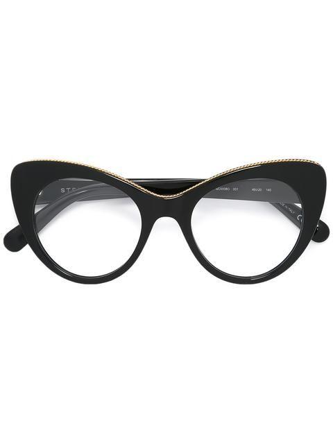 eeca3d0d7e69f STELLA MCCARTNEY cat eye frame glasses.  stellamccartney  glasses ...