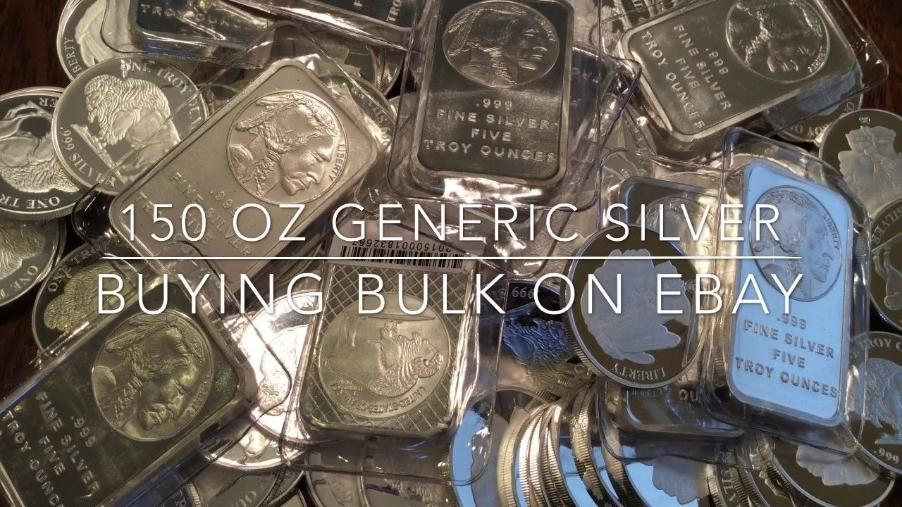 Stacking Silver 150 Oz Generic (Under Spot👍) Silver