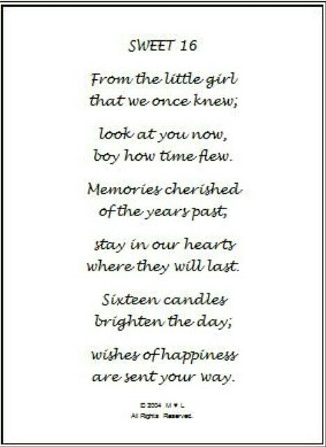 Pin By Suzanne Bentivegna On Quotes Sb Birthday Poems