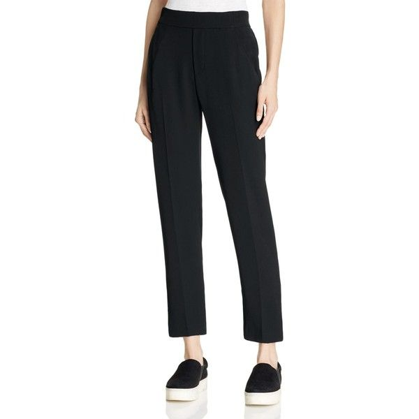 Vince Lounge Pants (410 CAD) ❤ liked on Polyvore featuring pants, black and vince pants