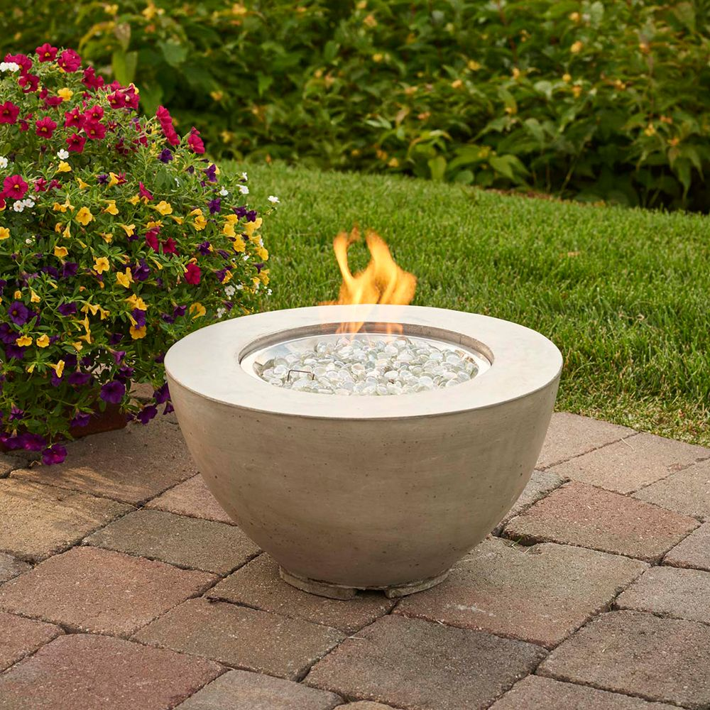 "Outdoor Great Room CV12 Cove 12"" Gas Fire Pit Bowl in"
