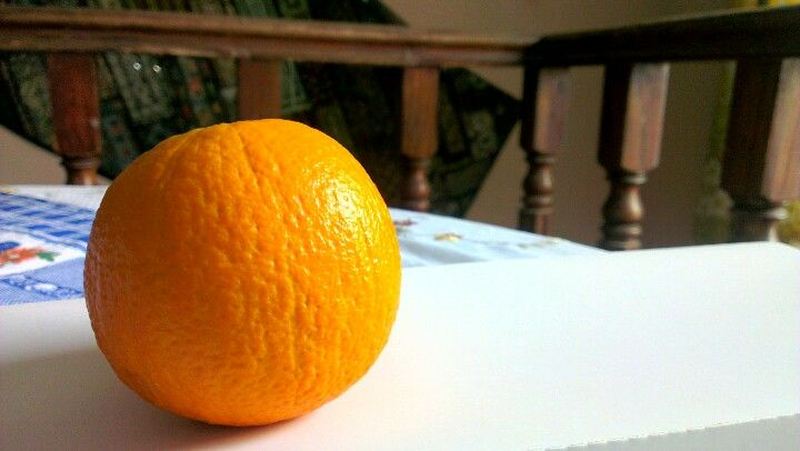 Oranges with the HTC One X