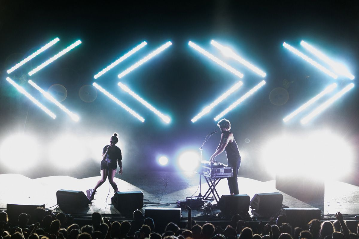 David Andrako Sylvan Esso Celebrate Brooklyn Prospect Park Prospect Park Brooklyn Photo