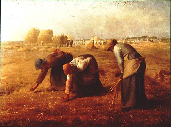 The Gleaners, 1857, Jean-Francois Millet.