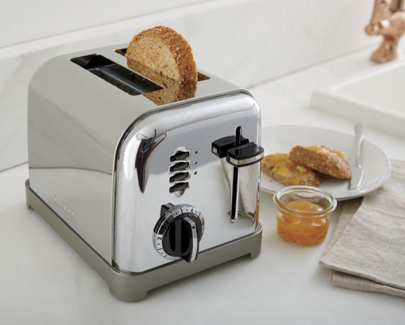 Cuisinart 4 Slice Metal Classic Toaster   Williams Sonoma