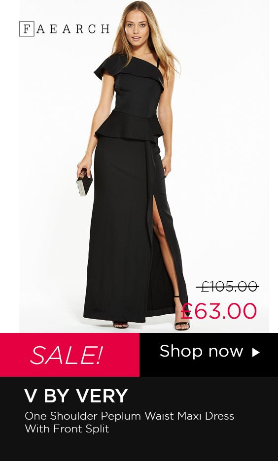 Get Ready For Your Red Carpet Moment With The One Shoulder Maxi
