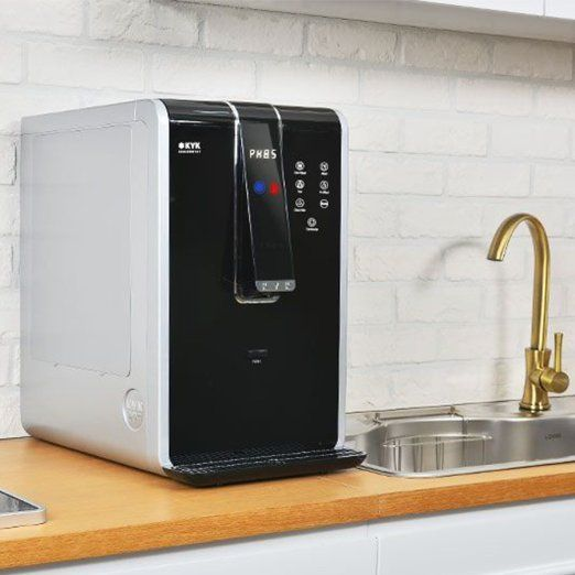 Kyk 777 Instant Hot Cold Alkaline Water Ionizer Filtration System And Dispenser By Intelgadgets Kitchen Dining