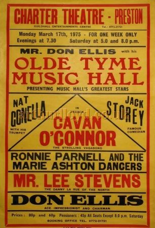 music hall poster - Google Search