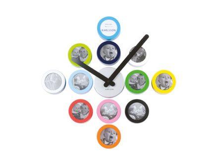 Contemporary Wall Clock Diy Dots Archiexpo Clocks