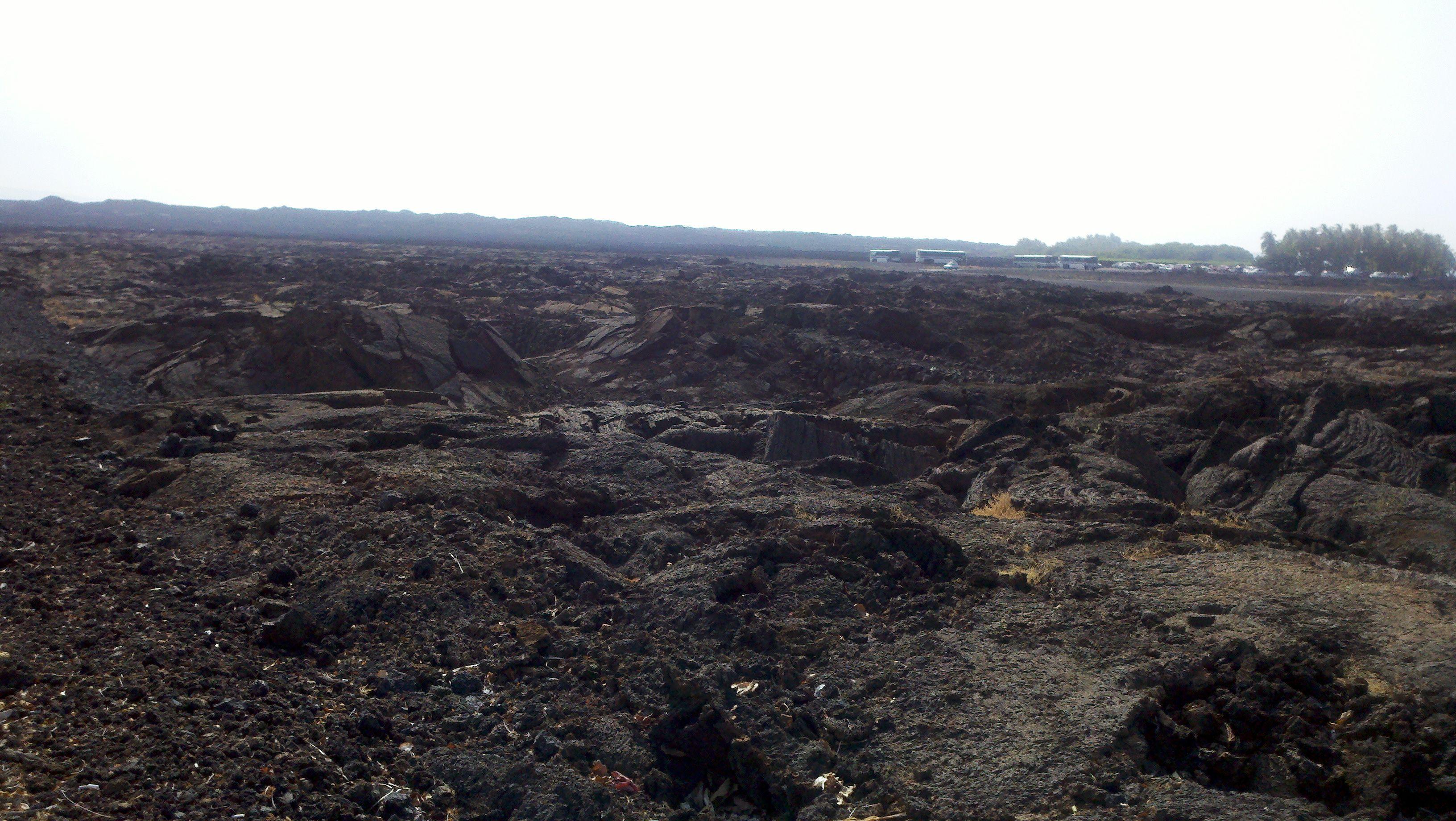 Lava Field, Big Island, HI