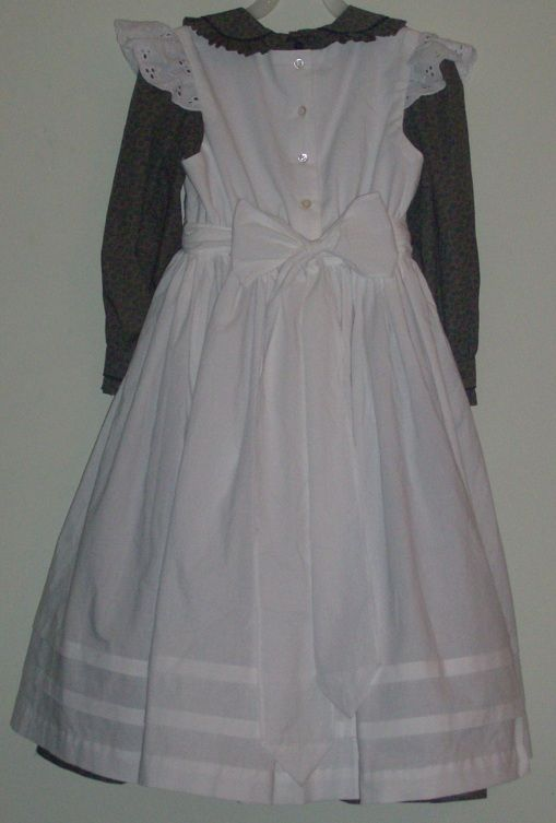 441d9f45c1099 costumes for helen keller | Helen Keller Dress and Pinafore | sewing ...