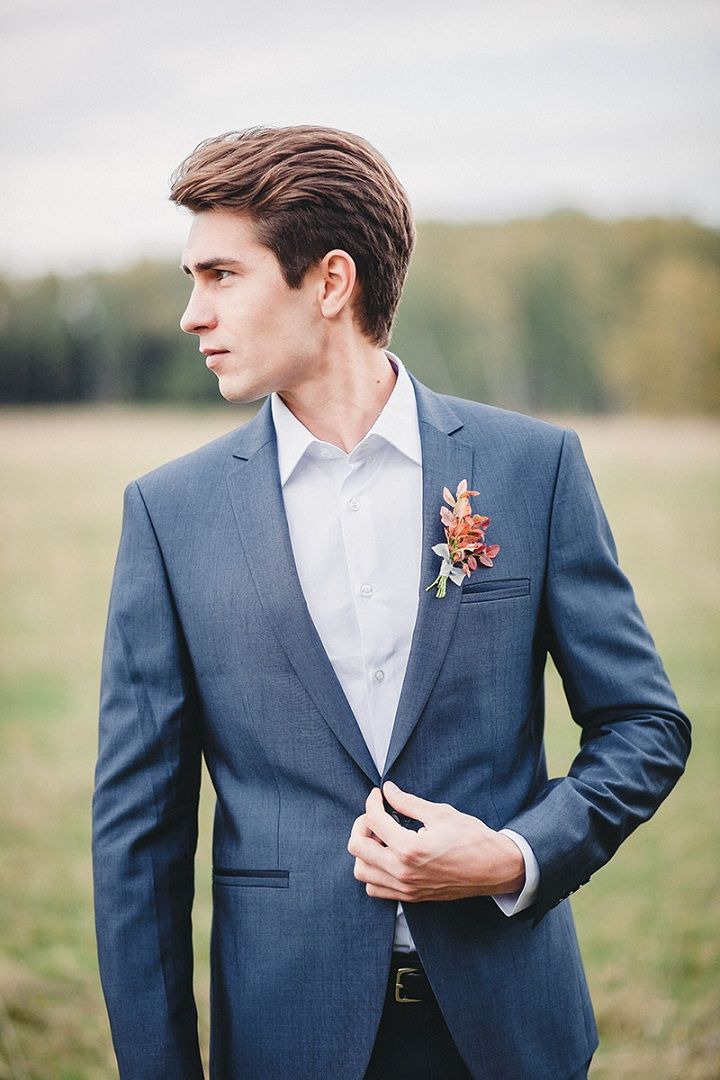 Groom style for autumn wedding | fabmood.com #wedding #autumnwedding #fallwedding #groom