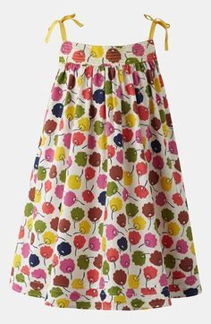 Mini Boden Print Holiday Dress (Little Girls & Big Girls) available at #Nordstrom
