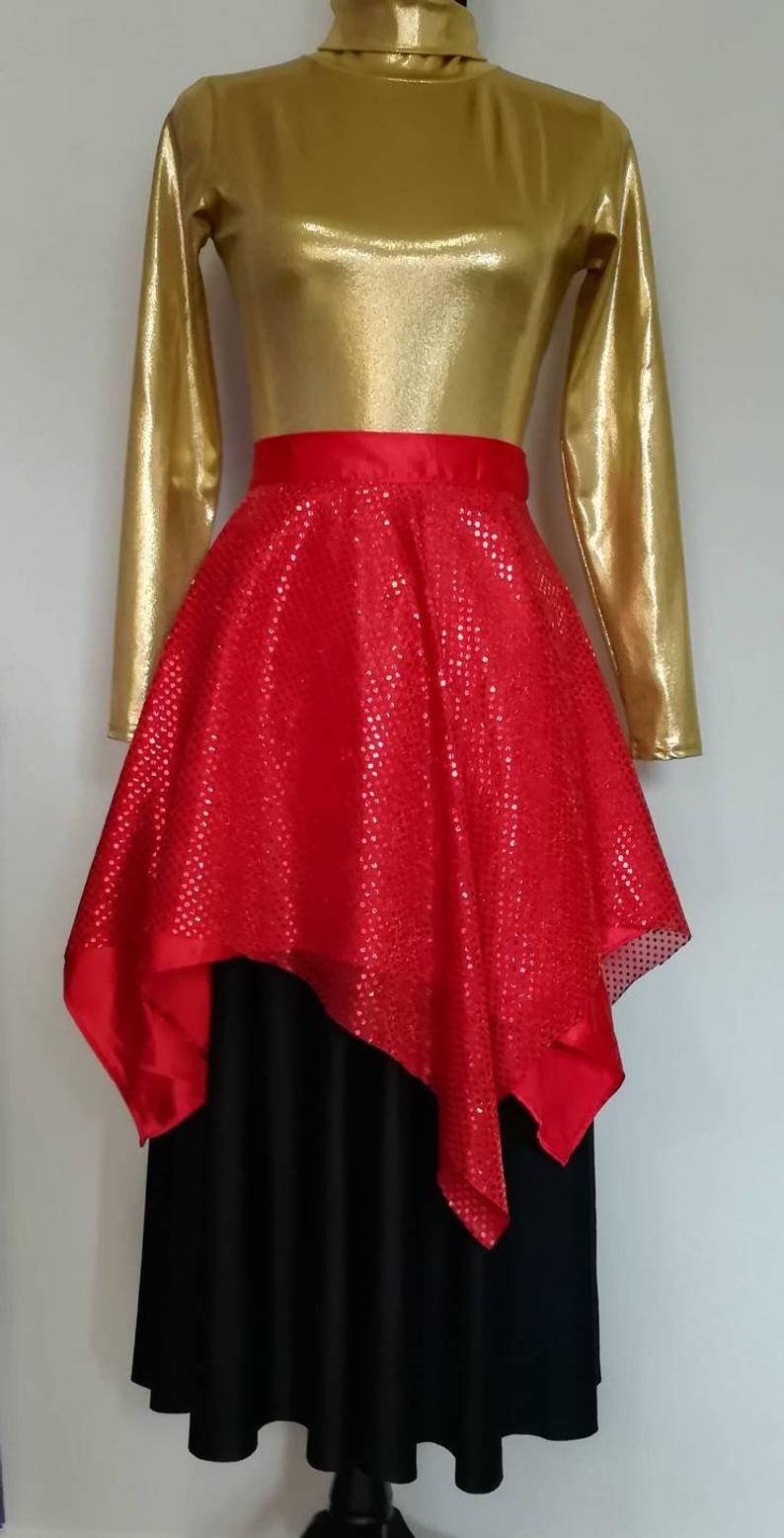 Skirt Worship Dance Skirt Dance Garments Praise Skirt Etsy In 2020 Dance Garments Dance Attire Dance Skirt