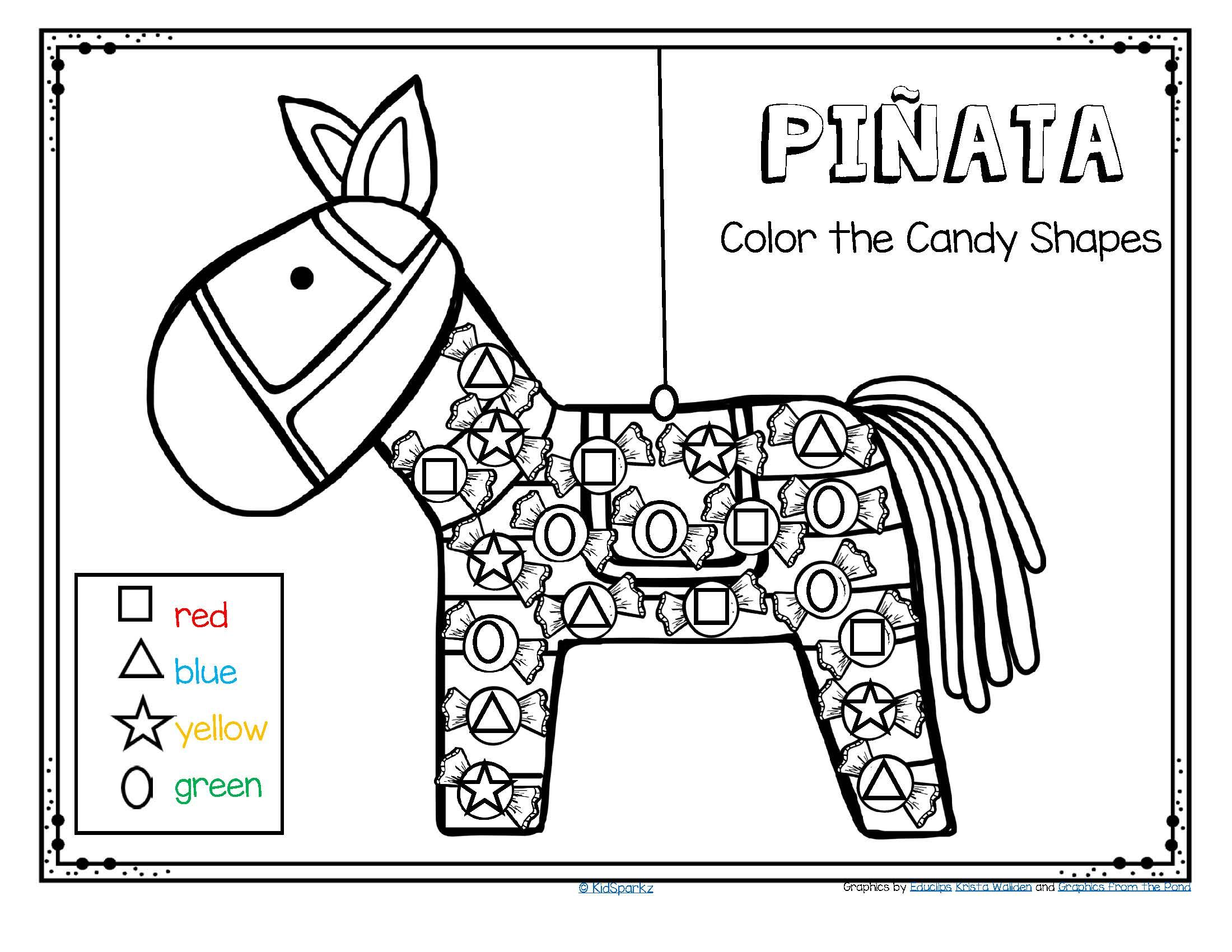 hight resolution of FREE Quick and easy download to celebrate a Cinco de Mayo fiesta for  preschool and …   Hispanic heritage month activities