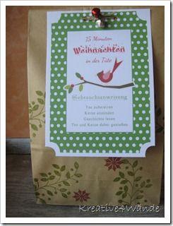 15 minuten weihnachten in der tüte   weihnachten, kleine geschenke, 15 minuten weihnachten