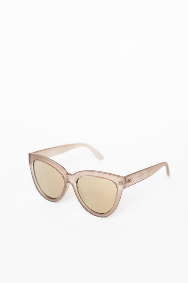 63632dd15d Le Specs Liar Liar Sunglasses   Matte Stone – P A R C