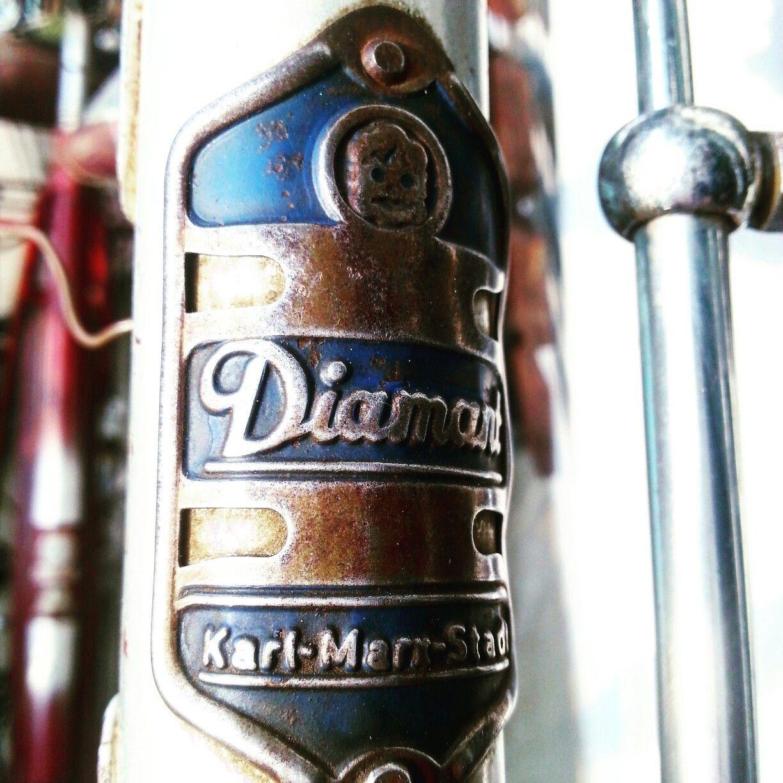 Diamant Fahrrad Steuerkopfschild Oldtimer Fahrrad Sportfahrrad